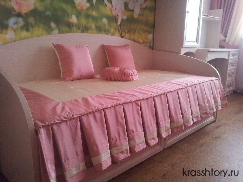 Шьем покрывало на кровать в детскую